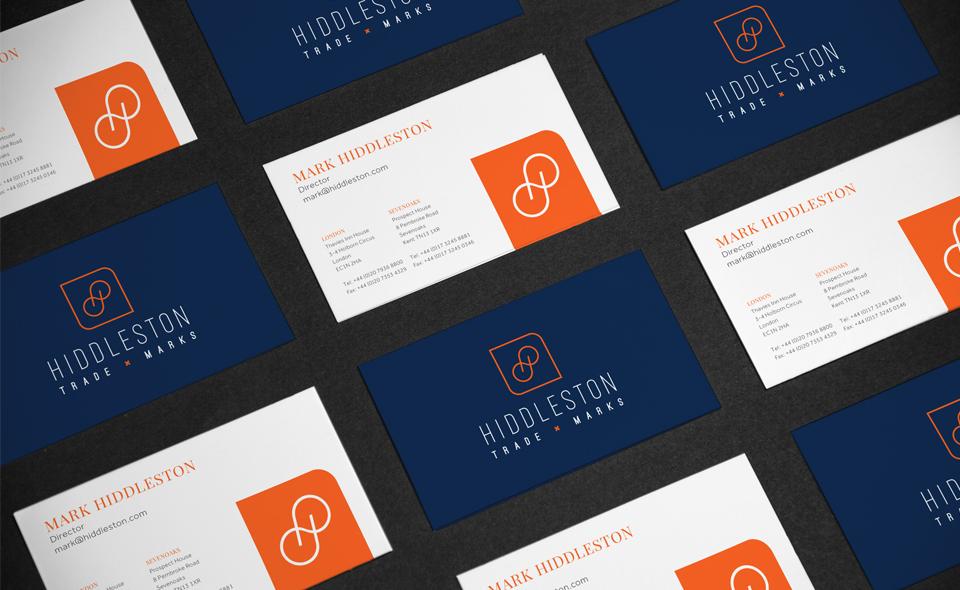 Hiddleston Trade Marks logo design by Ditto Creative, Kent