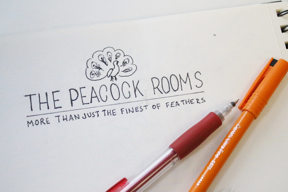 The Peacock Rooms Sevenoaks, logo and branding design by Ditto Creative