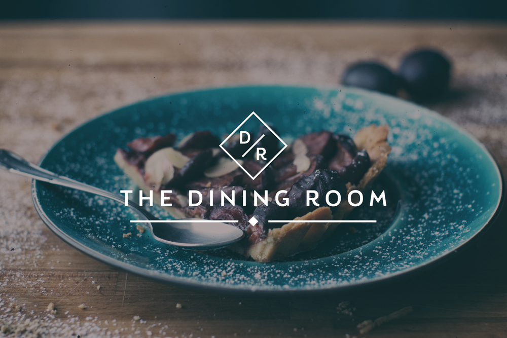 Dining Room PR, Tunbridge Wells, logo design by Ditto Creative, branding agency Kent