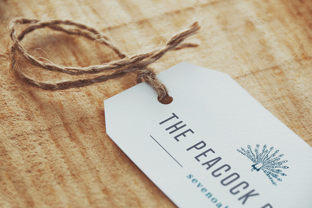 The Peacock Rooms Sevenoaks, logo and brand design by Ditto Creative, branding agency Kent