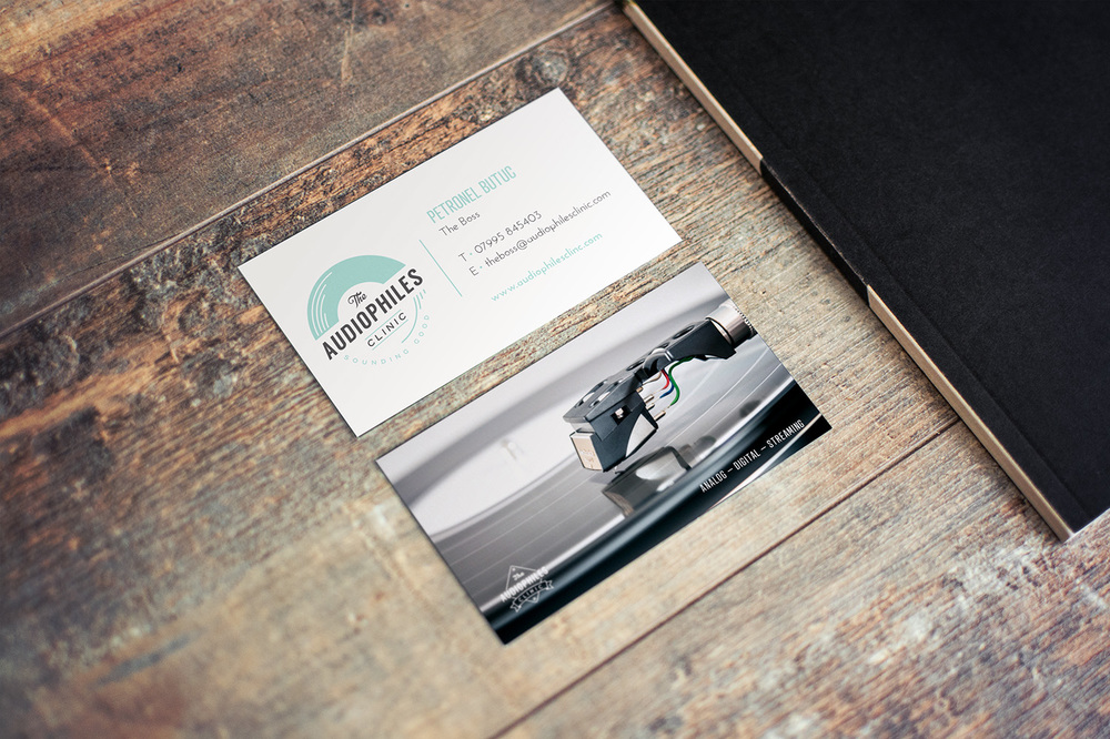 The Audiophile's Clinic, logo design and branding by Ditto Creative, branding agency Kent