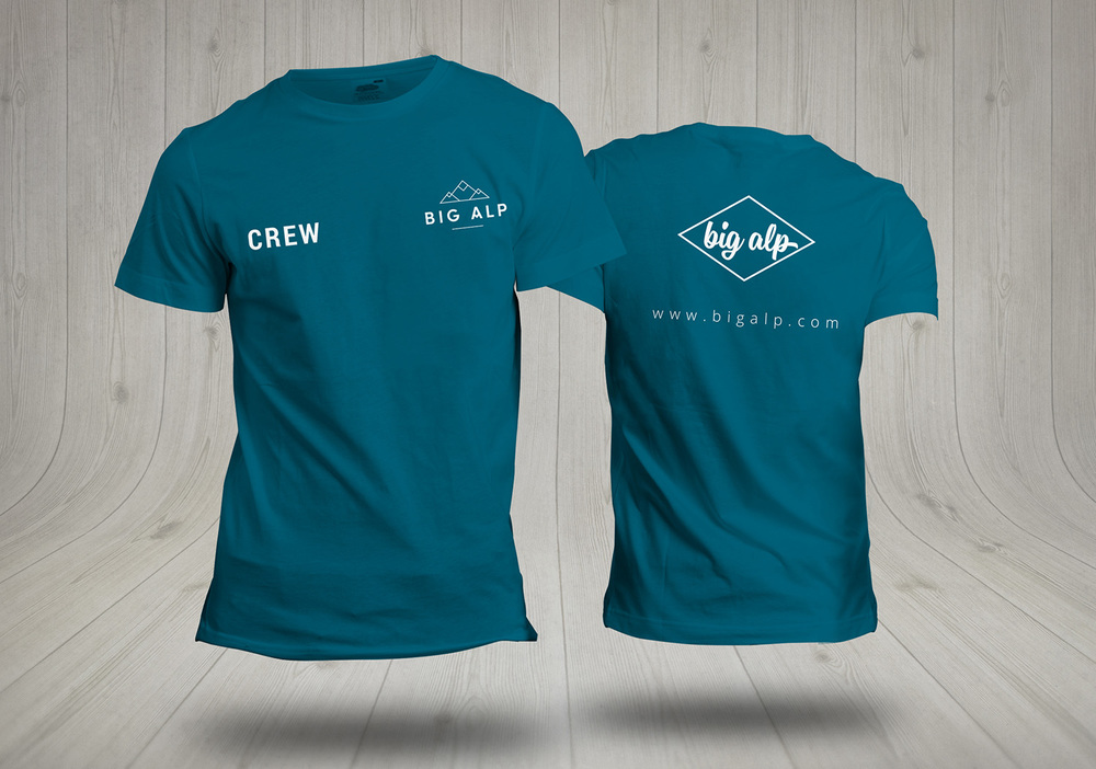 Big Alp, logo design and branding by Ditto Creative, branding agency Kent