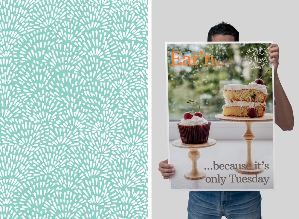 Eat N Mess, Sevenoaks, logo design and branding by Ditto Creative, branding agency Kent