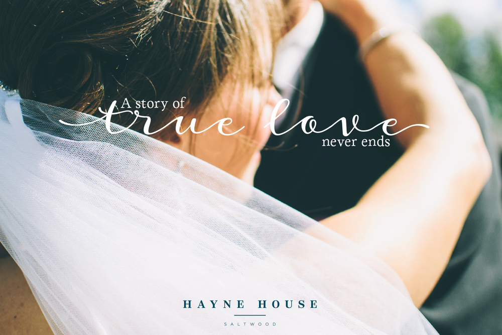 Hayne House wedding venue in Kent, logo design and branding by Ditto Creative, branding agency in Kent