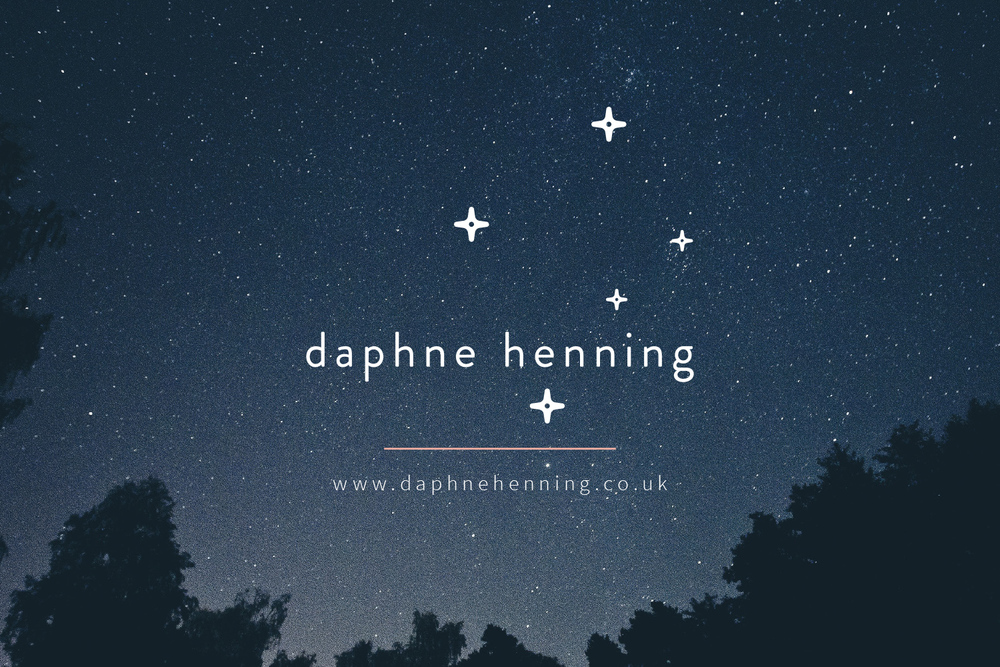 Daphne Henning logo design and brand design by Ditto Creative, branding agency Kent