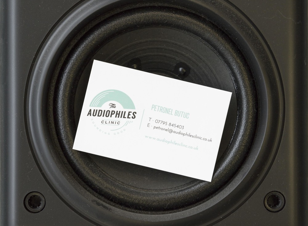The Audiophile's Clinic, logo design and brand design by Ditto Creative, branding agency Kent