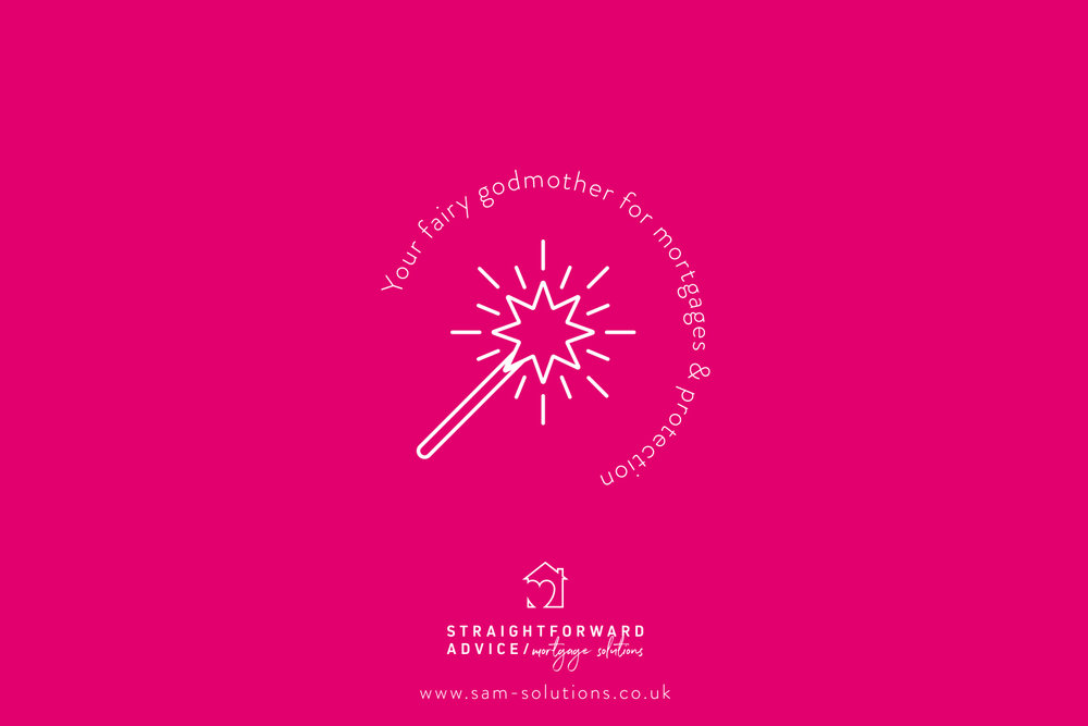 Straightforward Mortgage Advice Solutions logo design and branding by Ditto Creative, boutique branding agency Kent