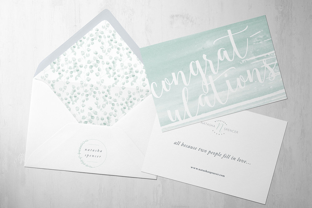 Natasha Spencer Weddings and Events, logo design and brand identity by Ditto Creative, boutique branding agency Kent