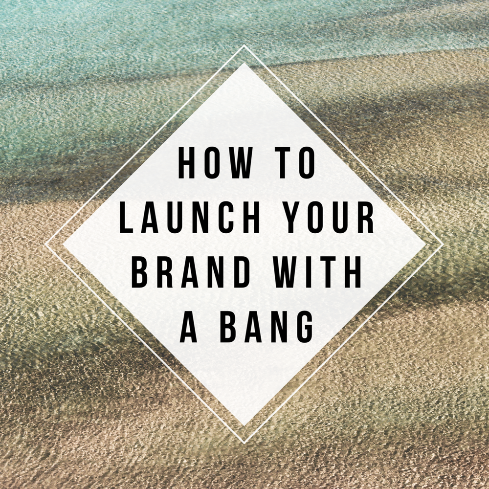 How to launch your brand, by Hannah Belton of Ditto Creative, branding agency Kent