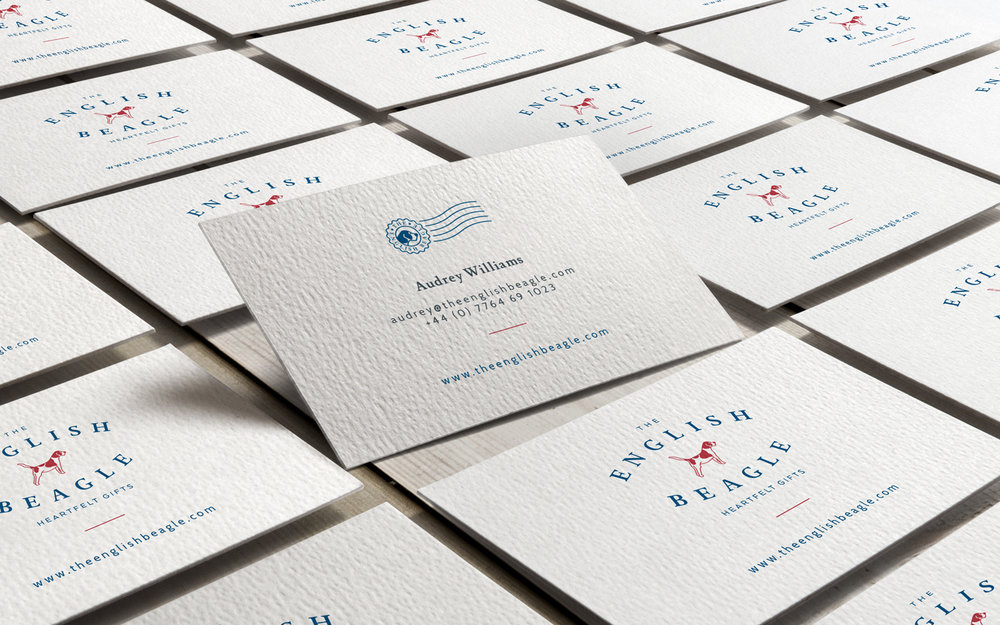 The English Beagle, logo design and brand identity by Ditto Creative, boutique branding agency Kent