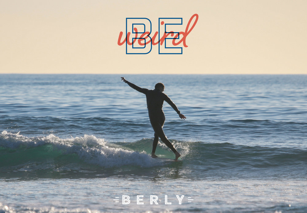 Logo design and brand identity for California video agency Berly, branding by Ditto Creative, boutique branding agency Kent