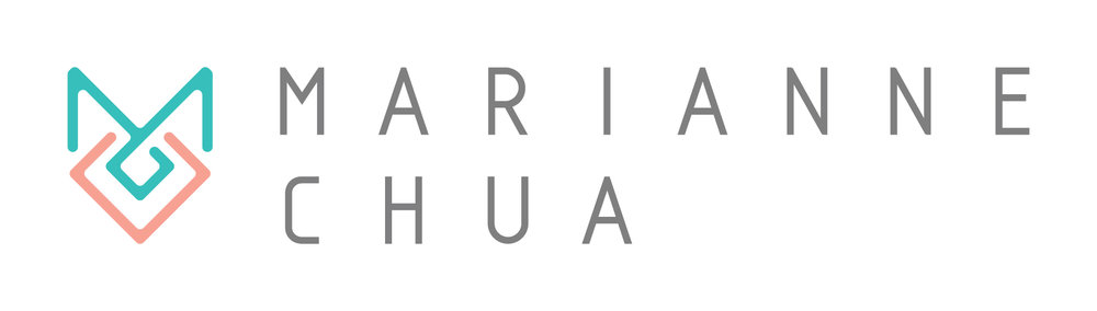 Brand identity and logo design for Marianne Chua, alternative wedding photographer in London. Brand created by Ditto Creative, branding agency in Kent