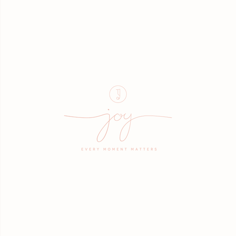 Joy logo design by Ditto Creative | boutique branding agency in Kent for small businesses