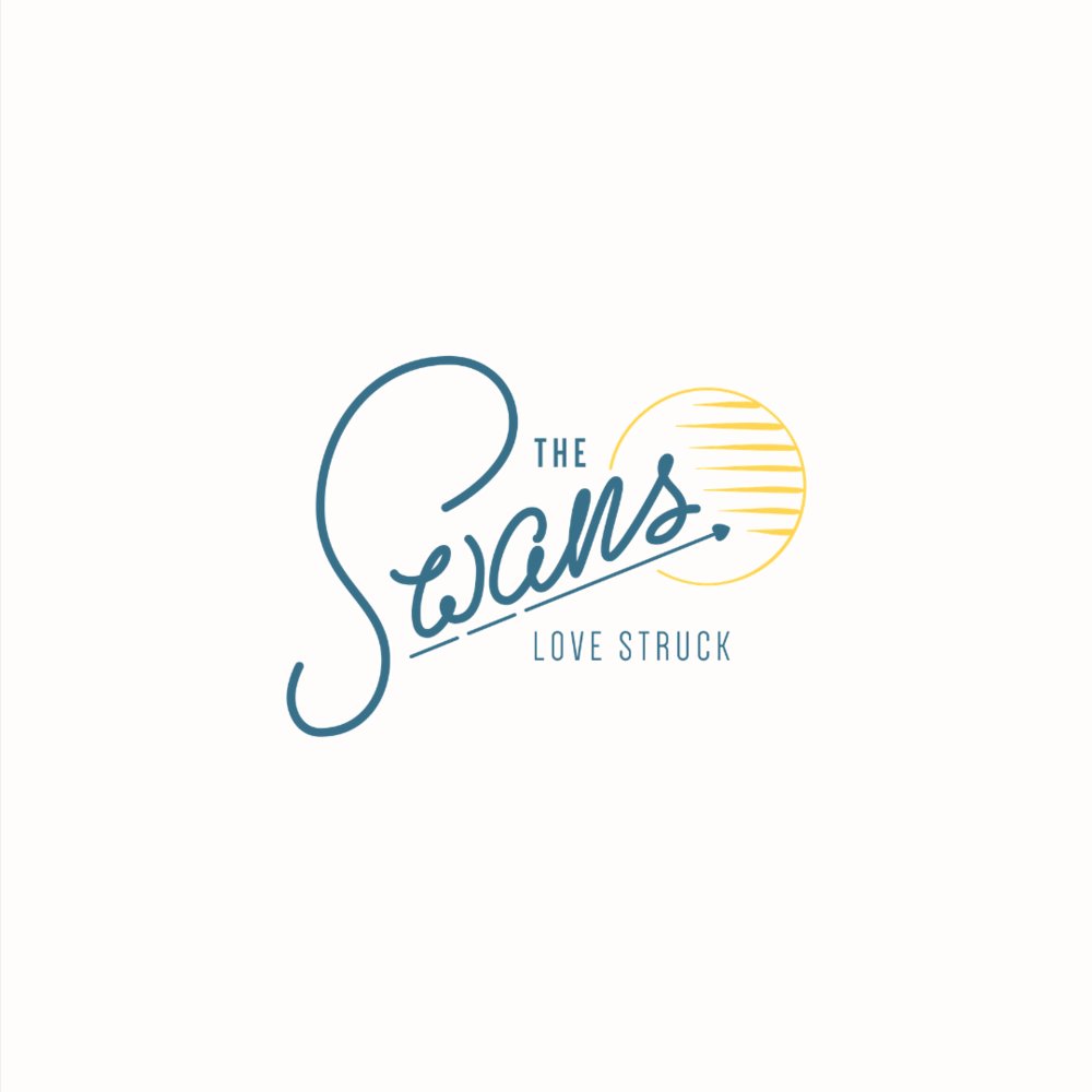 The Swans wedding photography logo design by Ditto Creative | boutique branding agency in Kent for small businesses