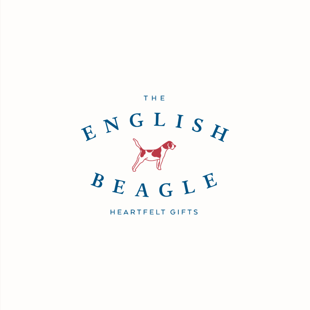 The English Beagle logo design and brand identity by Ditto Creative | boutique branding agency in Kent for small businesses