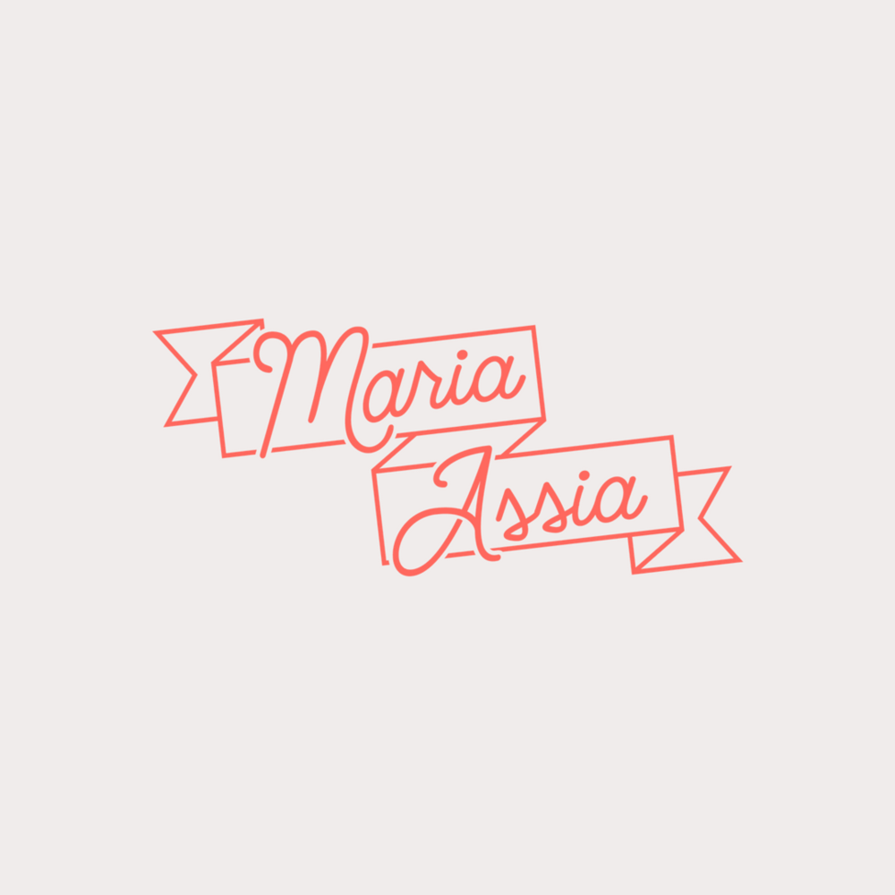 Maria Assia wedding photography logo design and brand identity by Ditto Creative | boutique branding agency in Kent for small businesses