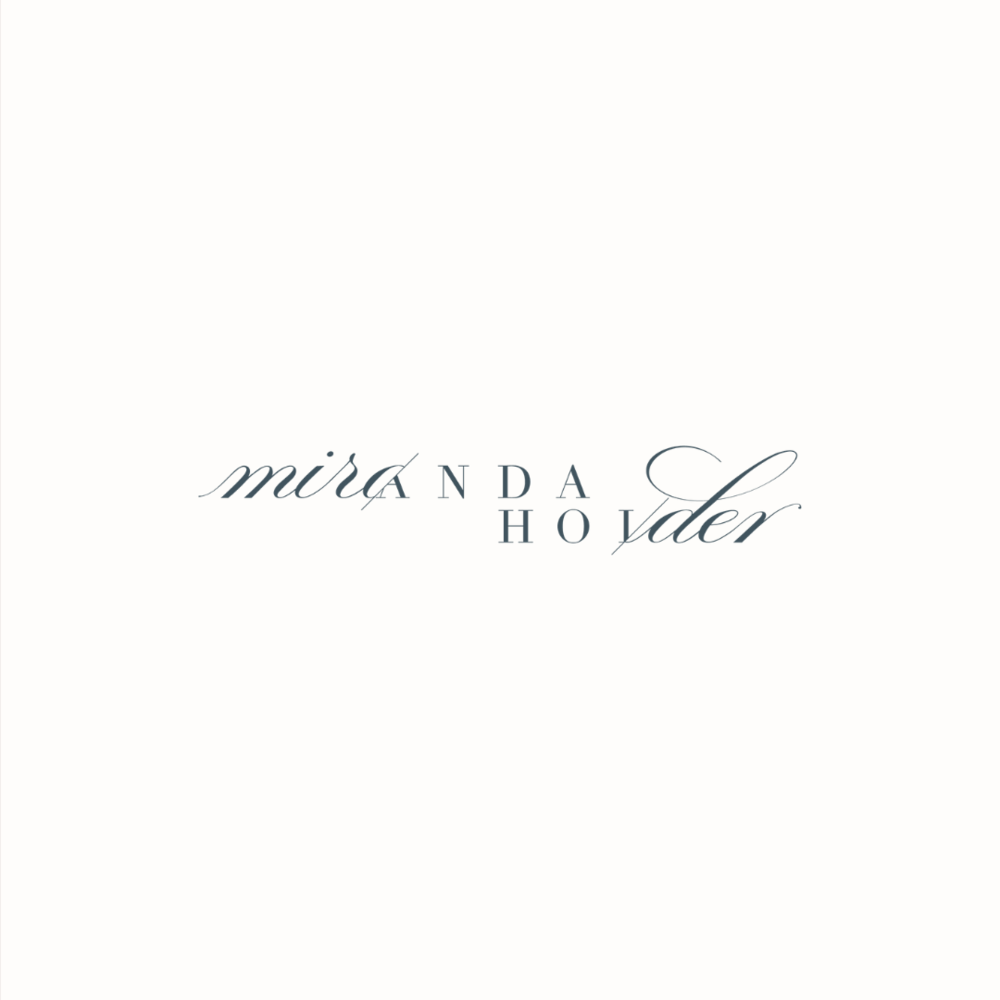 Miranda Holder stylist logo design and brand identity by Ditto Creative | boutique branding agency in Kent for small businesses