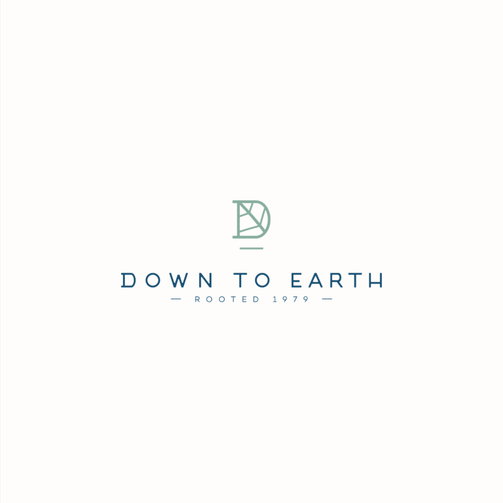 Down To Earth tree surgeons logo design and brand identity by Ditto Creative | boutique branding agency in Kent for small businesses