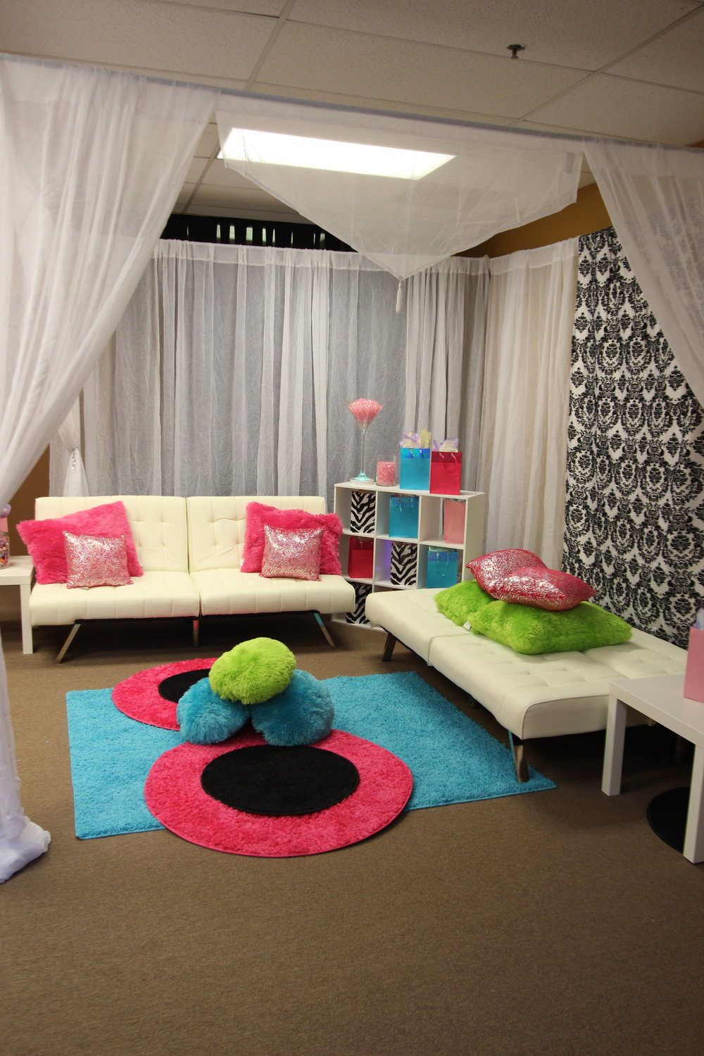 Cabana Structure Set up.JPG