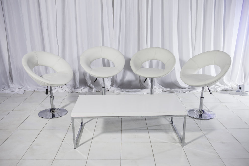 Coffee Table- White Silver Rimmed with Hollywood Chair_2.jpg
