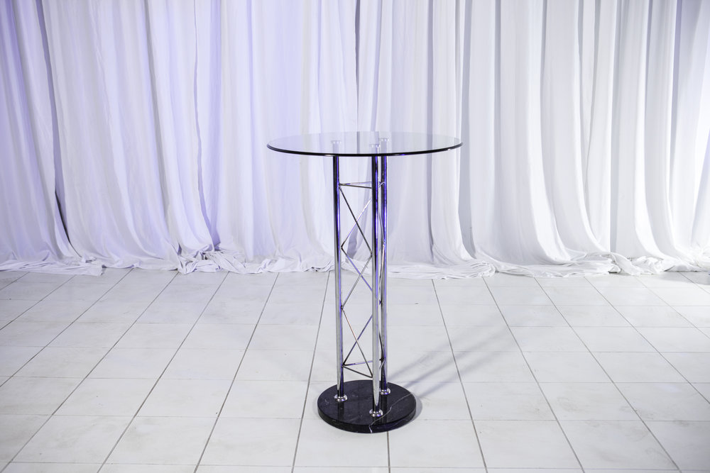 Table (Bar)- Silver Truss Round Acrylic High Top_1.jpg