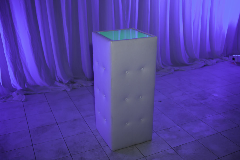 Table (Cocktail)- White Tufted LED_1.jpg