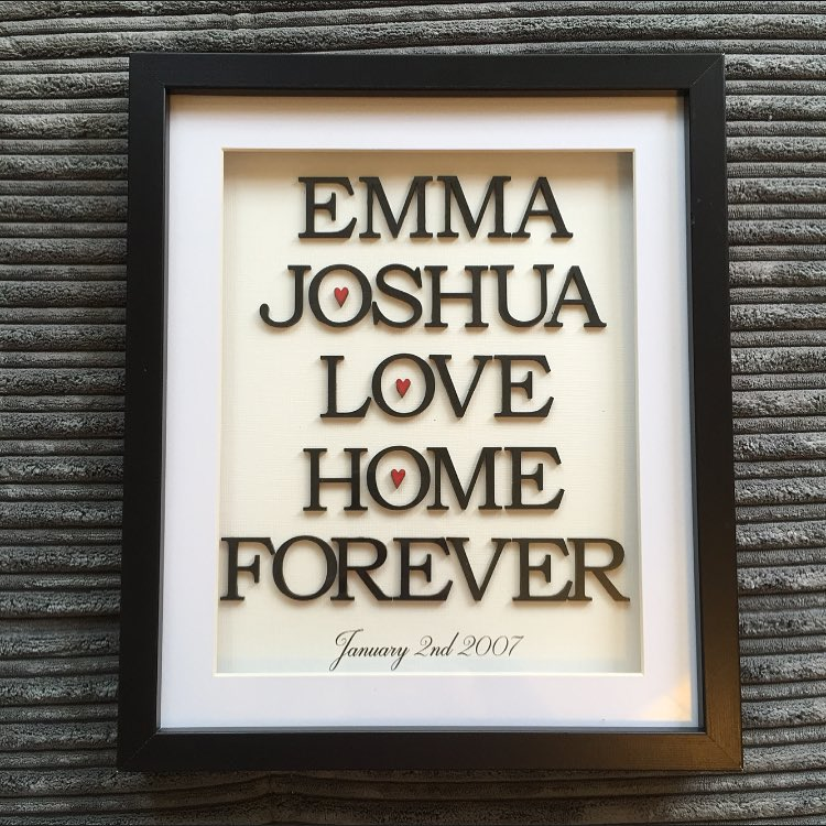 Personalised Wall Art