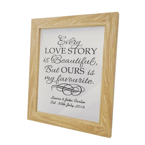 Quote Art - Wedding Frame — CoCo Loves