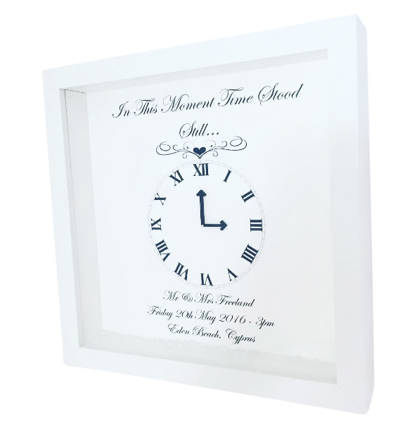 Time Stood Still Frames Personalised & Handmade - CoCo Loves