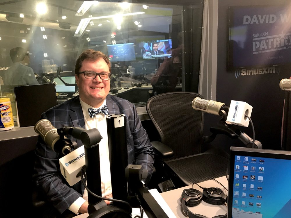 John Snyder appearance on The David Webb Show on SiriusXM Patriot