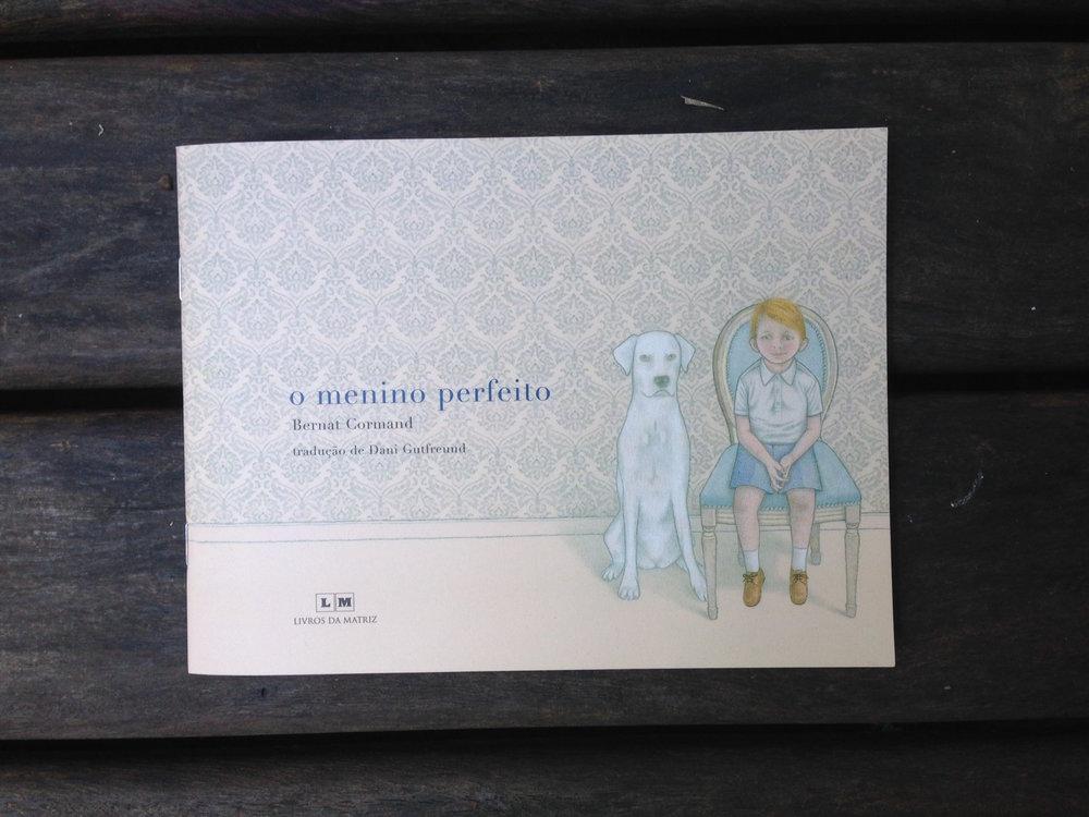 Imagens: O menino perfeito,Bernat Cormand / Livros da Matriz / Reprodução