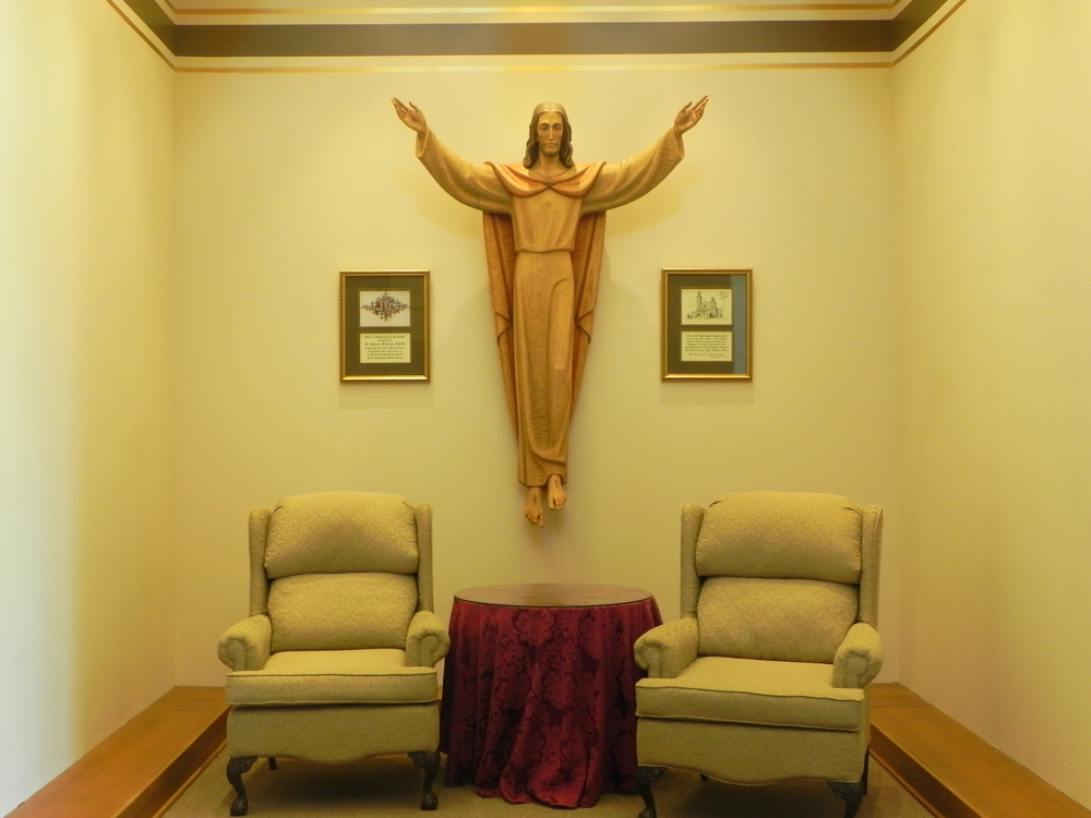 Chapel Columbarium interior