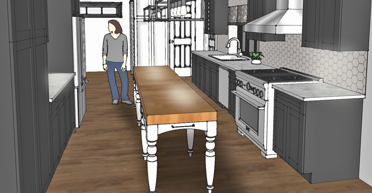 Residential Kitchen Consultation Project 2016