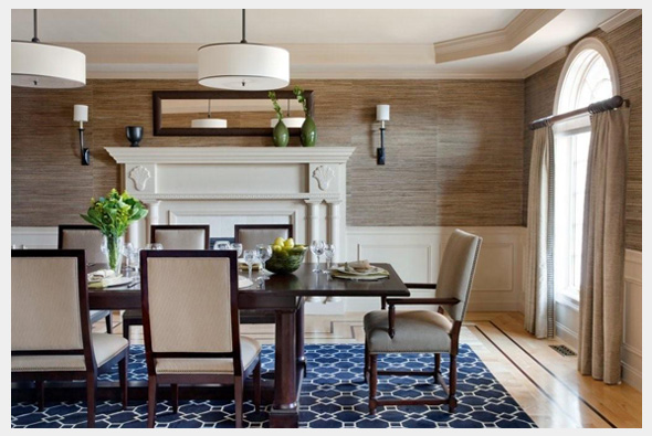 Residential Dining Room Project With Daher Interior Design (Assistant  Stylist), 2010