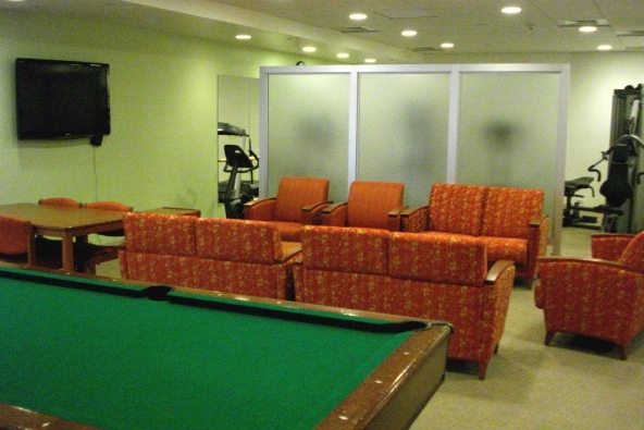 Suffolk University Student Lounge (Co-Lead Designer), 2009