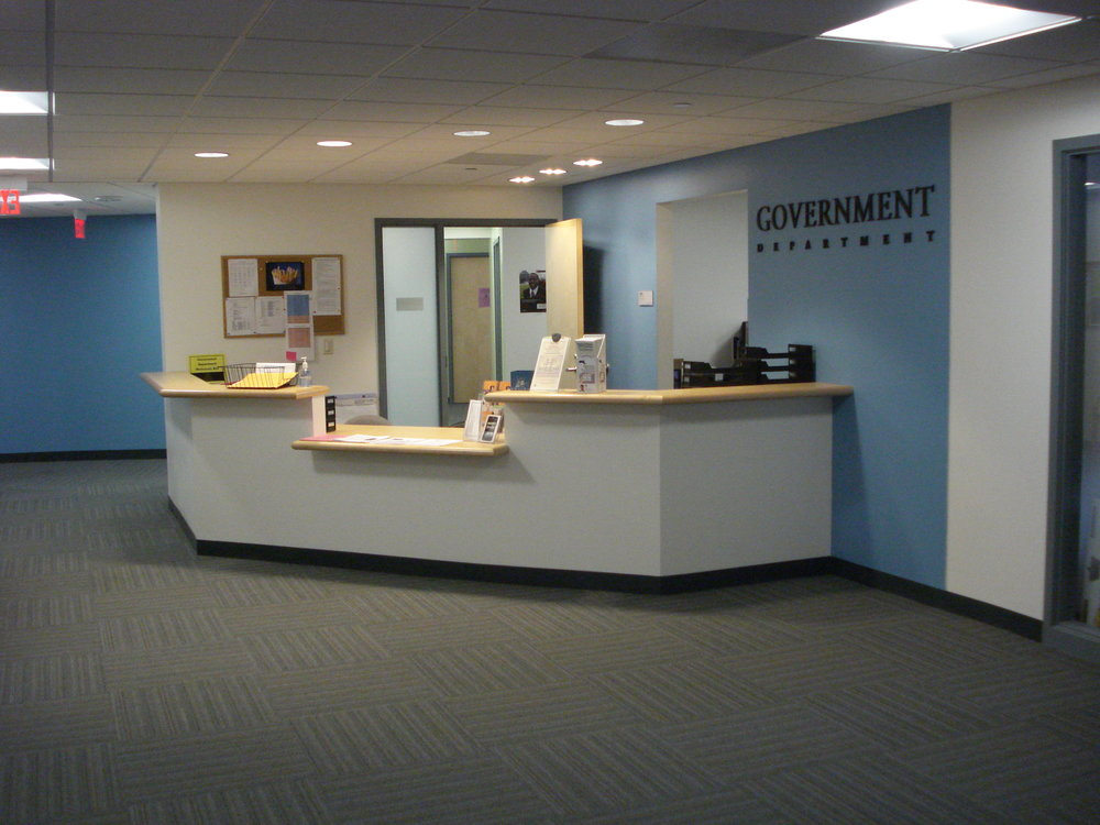 Government Department - Suffolk University (Facilities Planning Department Project), 2009