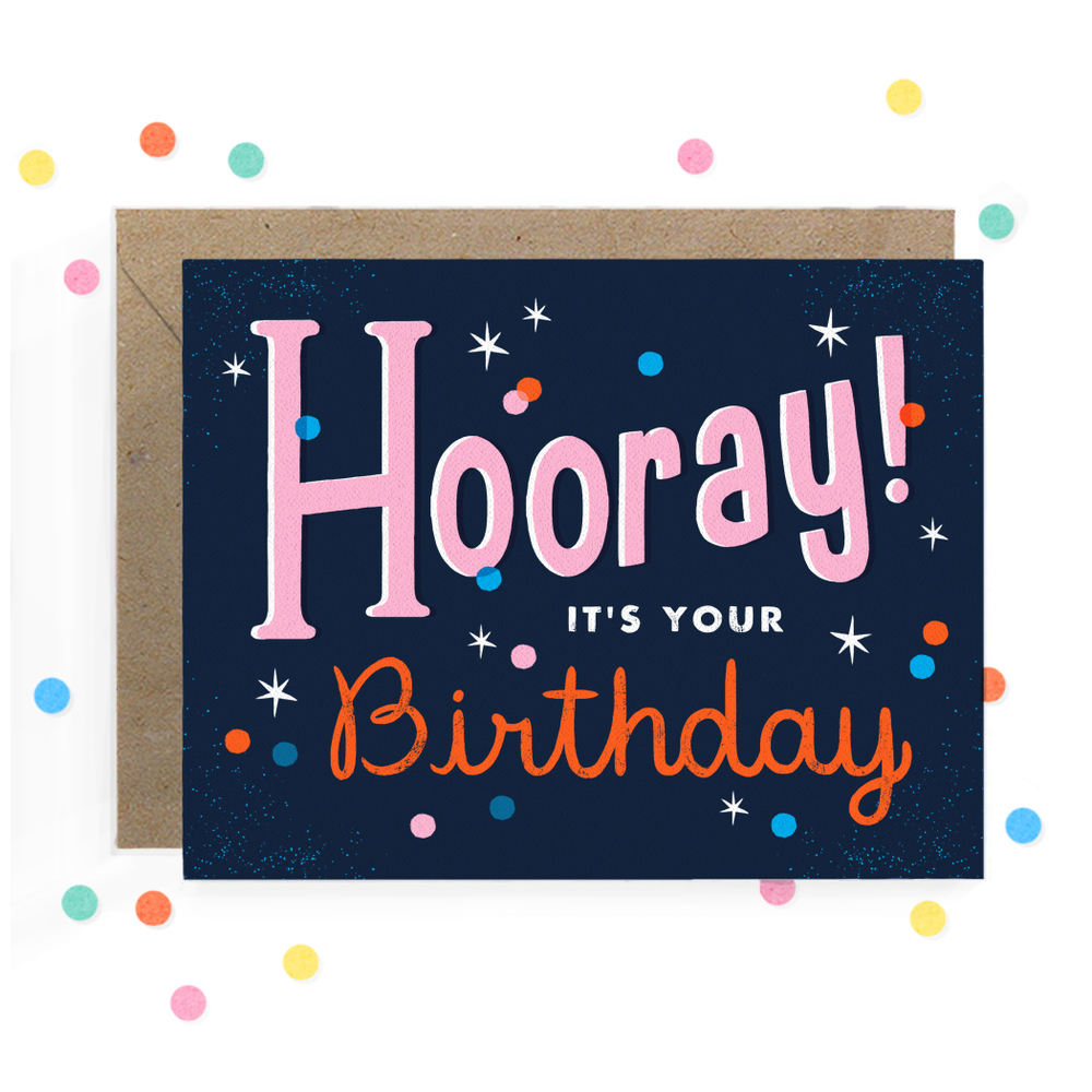 Hooray Birthday Greeting Card 1.jpg