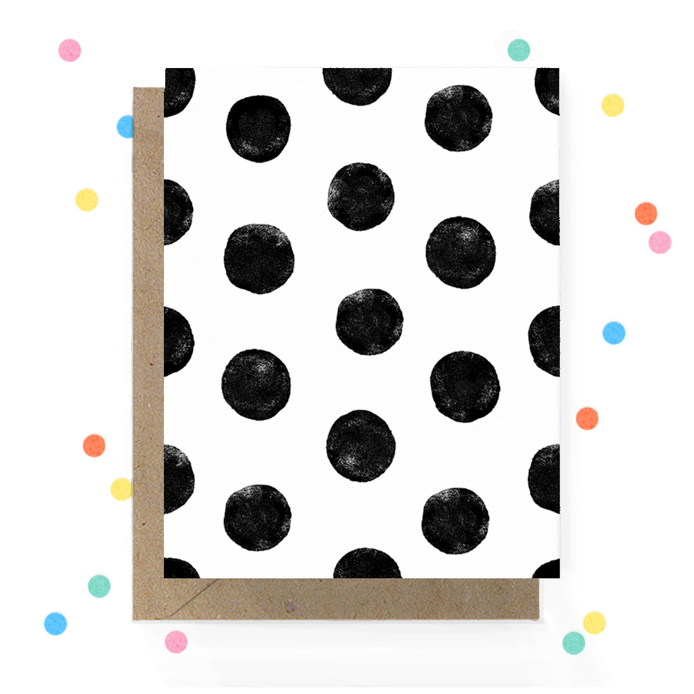 Black and White Dot Greeting Card 1.jpg