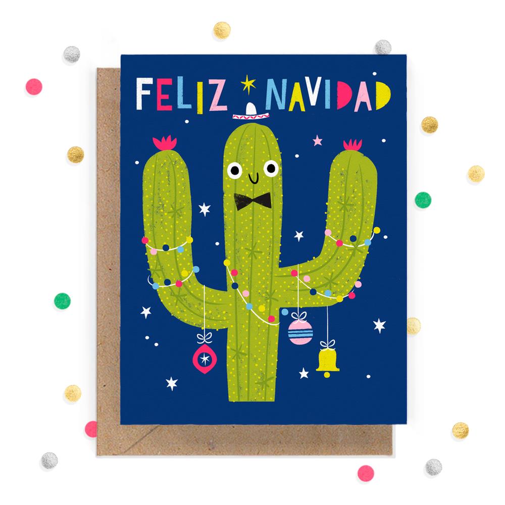 Feliz Navidad Cactus Greeting Card 1.jpg