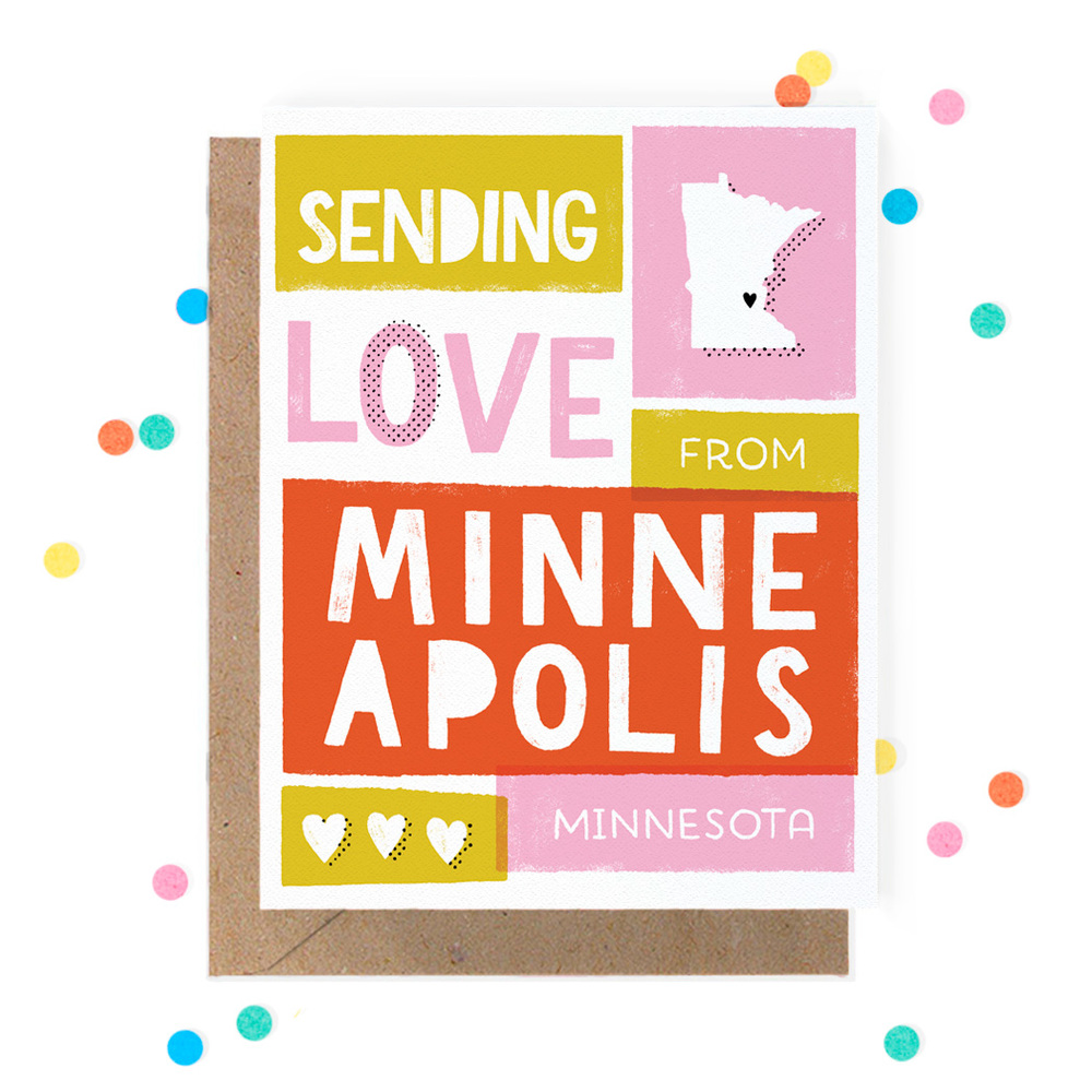 Sending Love from Minneapolis Greeting Card 1.jpg