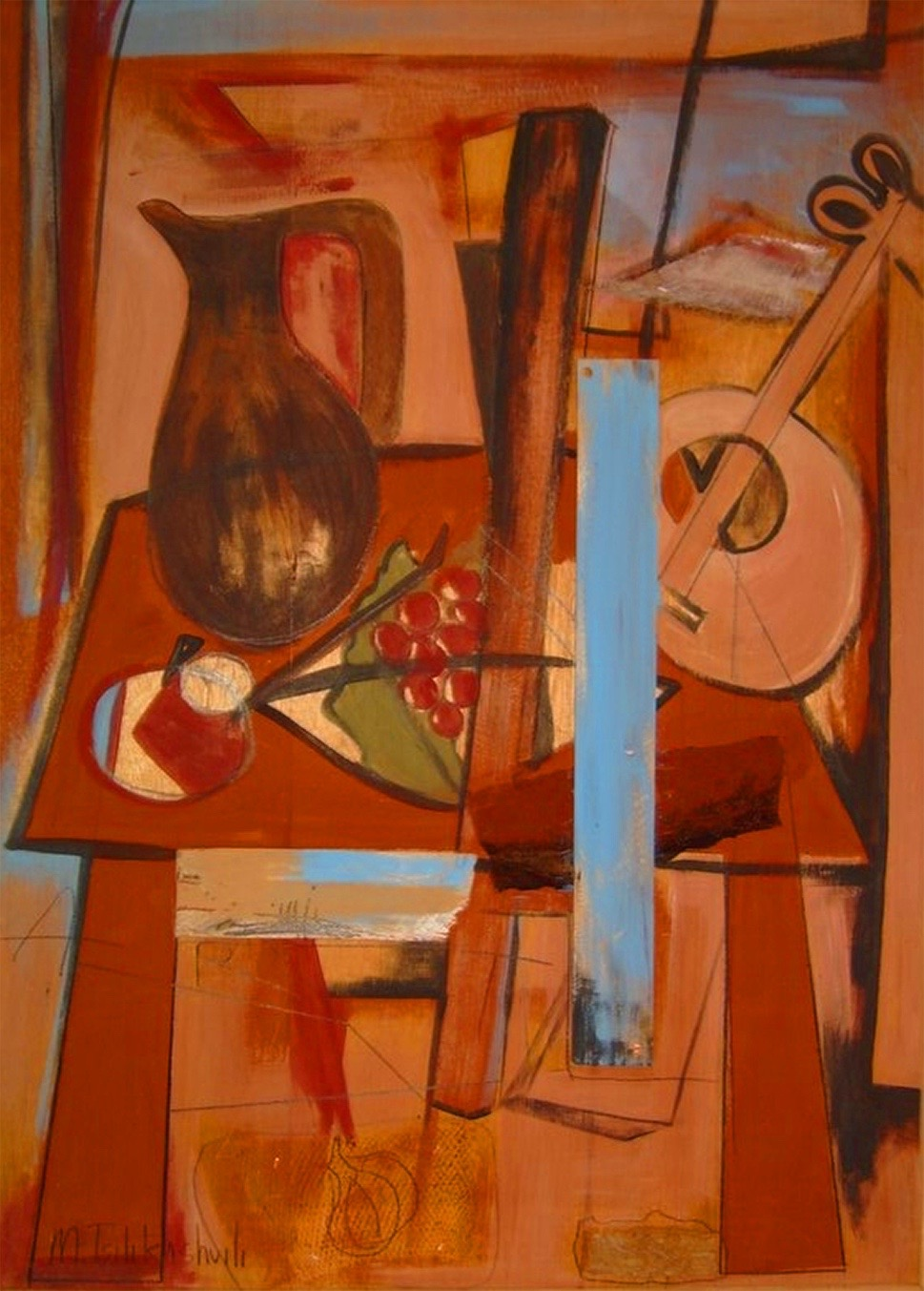 Composition on Board.