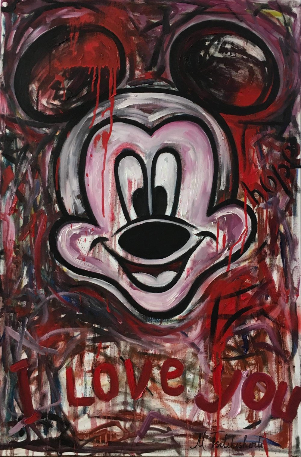 Mickey Mouse. Love, hope...