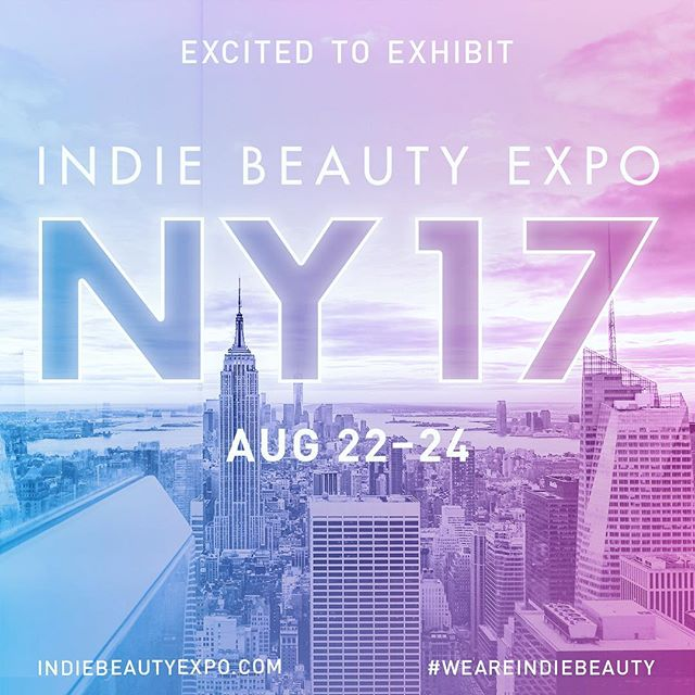 ✨INDIE BEAUTY EXPO in NYC is just 6 weeks away! Excited to be a part of this event that helps promote small beauty brands like us get the word out about our products. If you are going to be in NY during Aug 23-24, you can purchase #ShopIndie tickets through @indiebeautyexpo use code SHOPIBENY for 20% off. Plus anyone who attends will receive %15 off any purchase at our booth. 🌈💛 #weareindiebeauty #ibeny2017 #indiebeautyexpo #indiebeauty  #luaskincare #naturalbeauty #nyc #soho #beautyexpo
