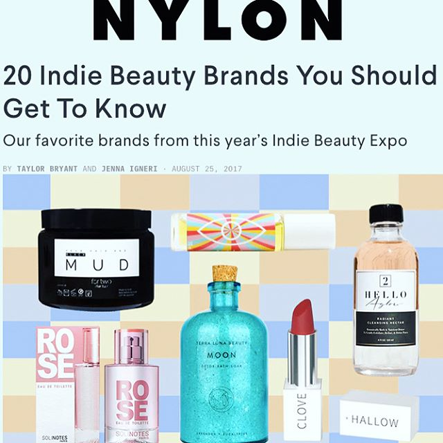 well thank you @nylonmag @jennaroseigneri @taylahgram ! It was a pleasure meeting you & appreciate all the love🌈💚! . . . . . #luaskincare #nylonmagazine #nylonmag #indiebeauty #indiebeautyexpo #weareindiebeauty #ibeny2017 #plantbasedproducts #plantbasedbeauty #cleanbeauty #greenbeauty #veganproducts #veganskincare #naturalbeauty #naturalskincare #womenfounders