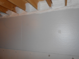 Foundation Wall and Rim Joist Insulation & Unfinished Basements - How to Insulate u2014 Rook Energy