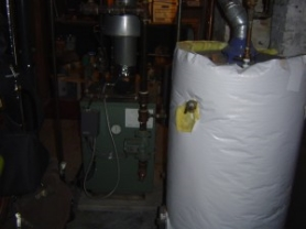 Standalone hot water heating system