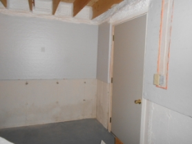 Foundation Wall Insulation - Thermax rigid board insulation
