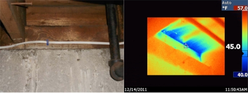 Basement Rim Joist air leakage