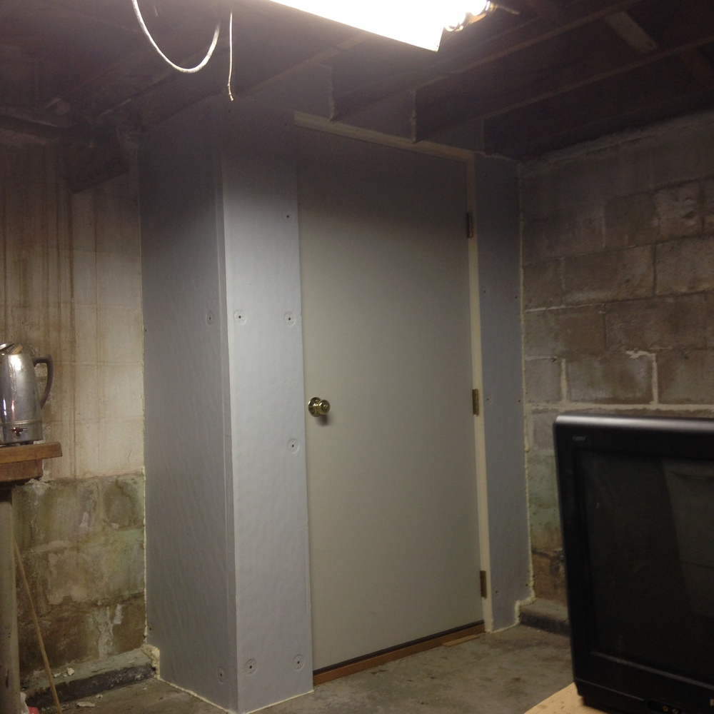 Basement Door Install - Completed