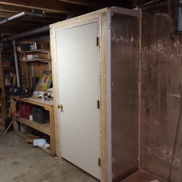 New Basement Door - Steel Insulated